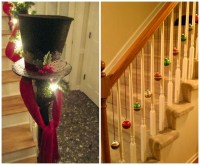 Fun Ways to Decorate Stairs for Christmas - Crafty Morning