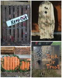 Best Halloween Wood Pallet Decorations - Crafty Morning