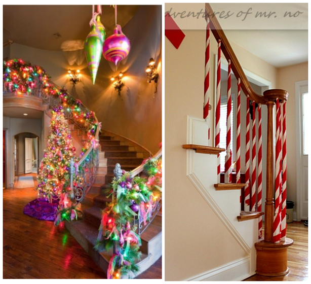 Fun Ways To Decorate Stairs For Christmas Crafty Morning