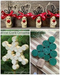 Christmas Crafts With Wine Corks - Easy Craft Ideas