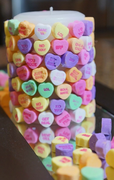 Conversation Candy Heart Craft Ideas Crafty Morning