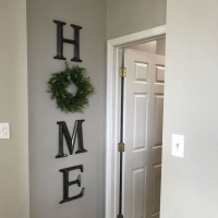 DIY Home Wreath Wall Decor - Crafty Morning