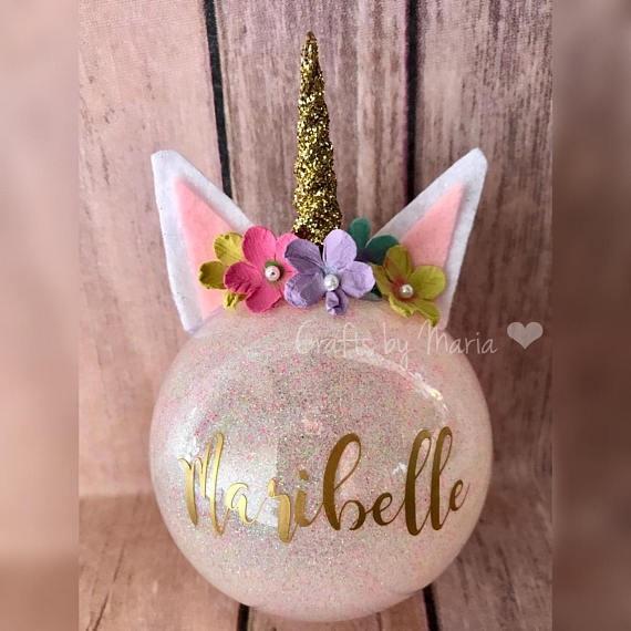 DIY Unicorn Ornaments Crafty Morning