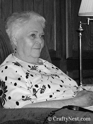My grandmother, photo