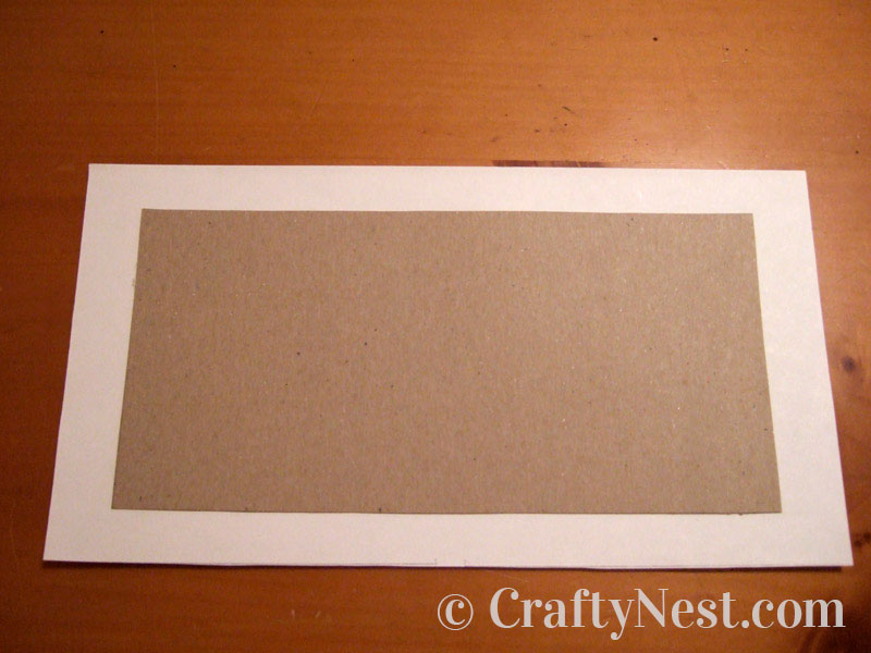 Chipboard and paper used for covers, photo