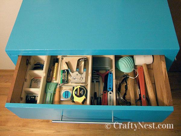 Top drawer organized, photo