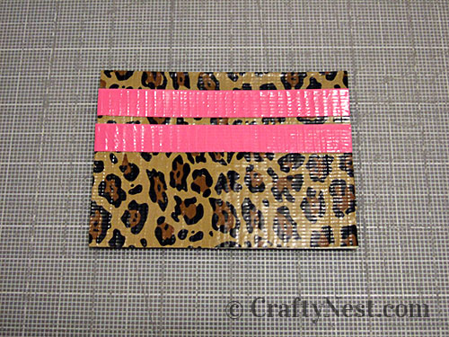 Duct tape wallets, step #16, photo