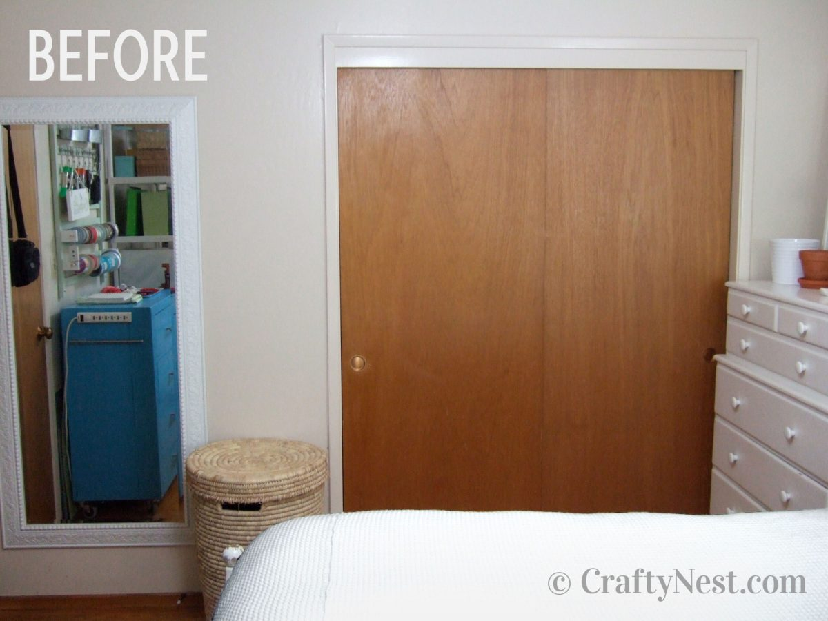 Closet, before photo