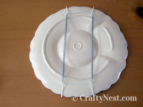 Attach plate hanger, photo