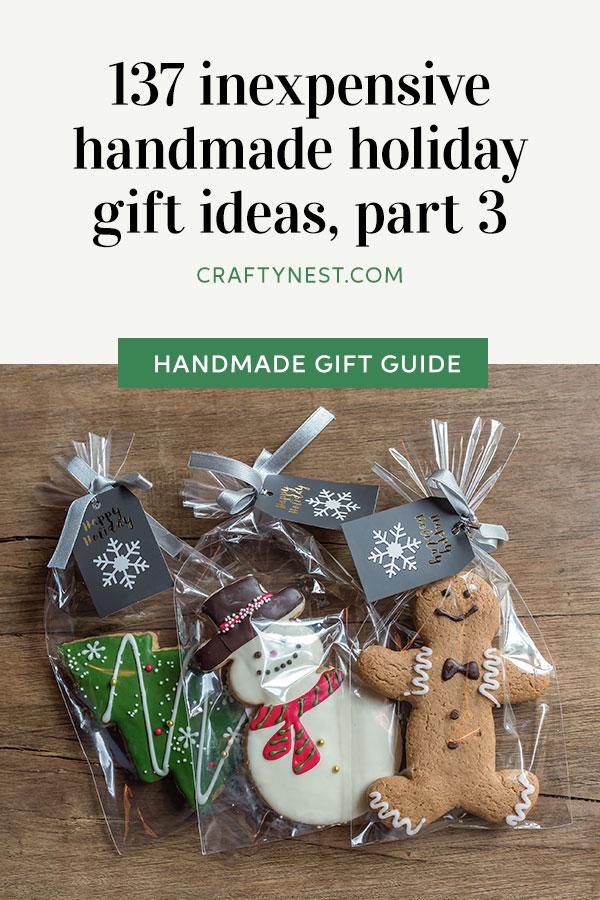 Crafty Nest handmade holiday gift ideas, part 3, Pinterest image
