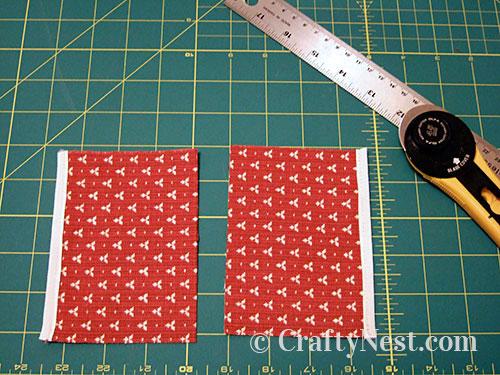 Step 1, coin purse, photo