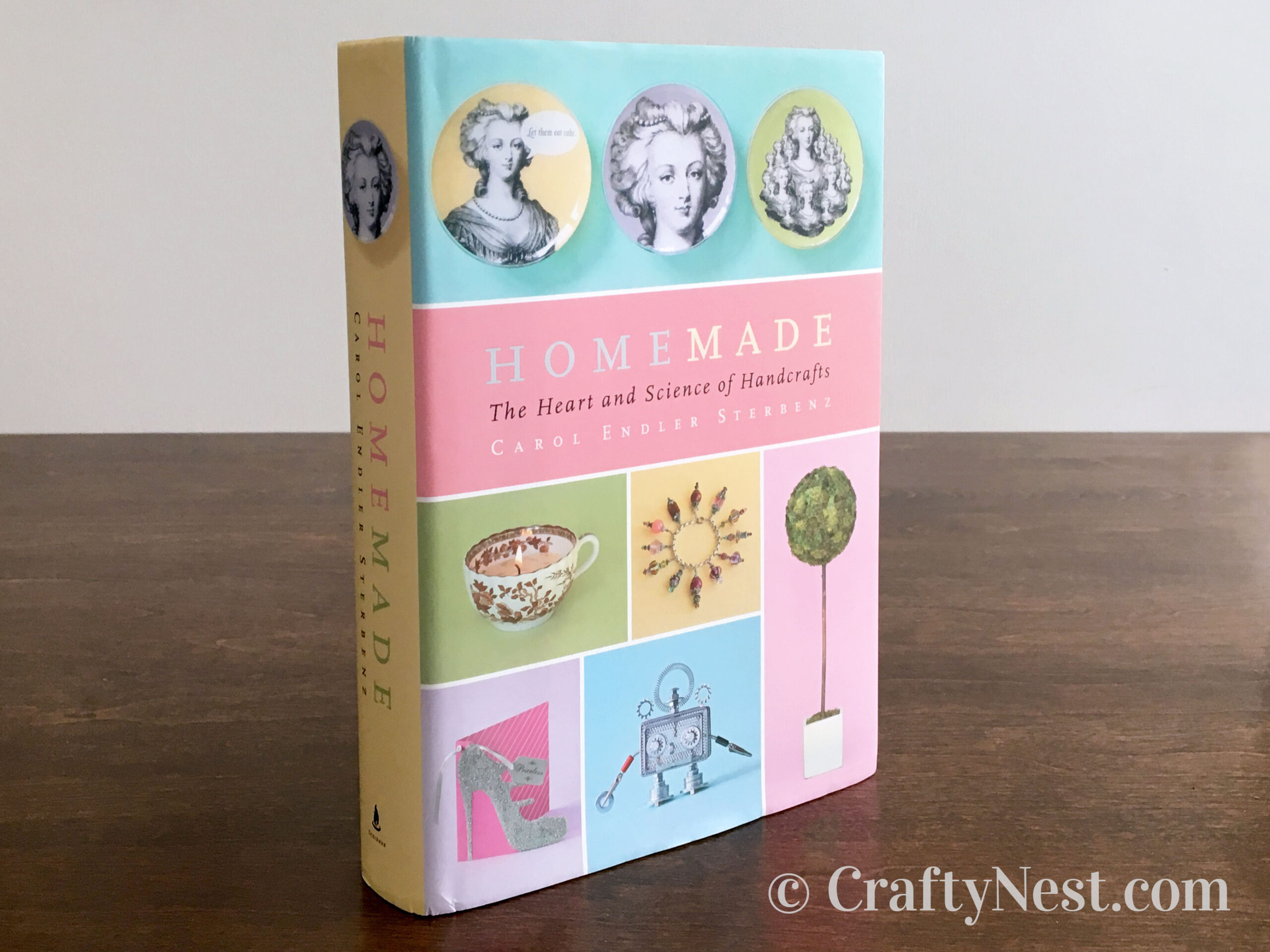 Homemade: The Heart and Science of Handcrafts closed book, photo