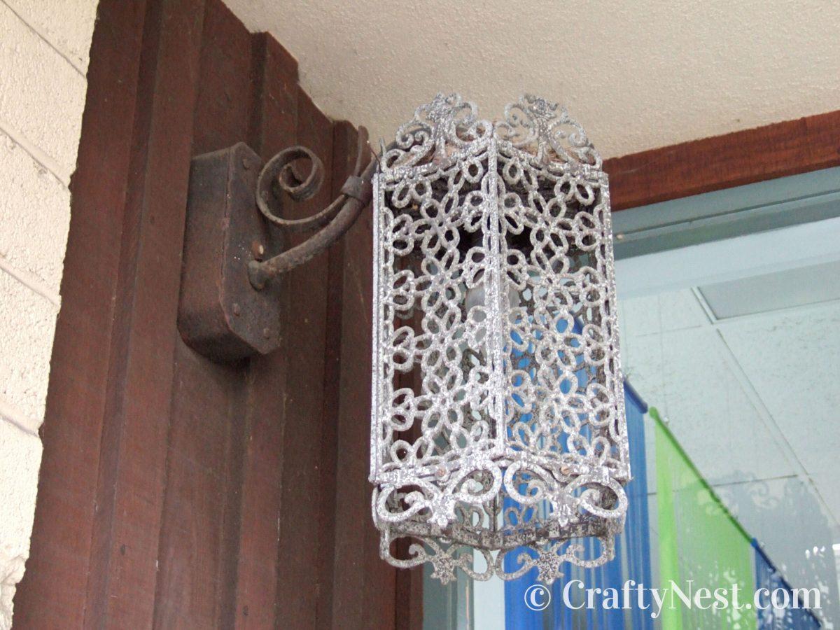 Anique outdoor light fixture, photo