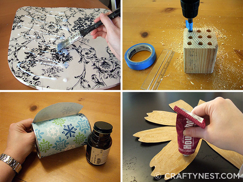Sampling a how-to photos from Crafty Nest, photo