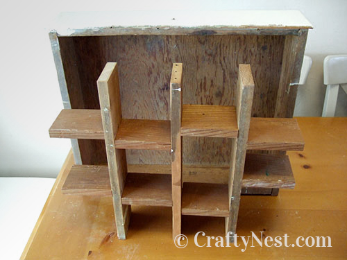Assemble the inner shelves, photo