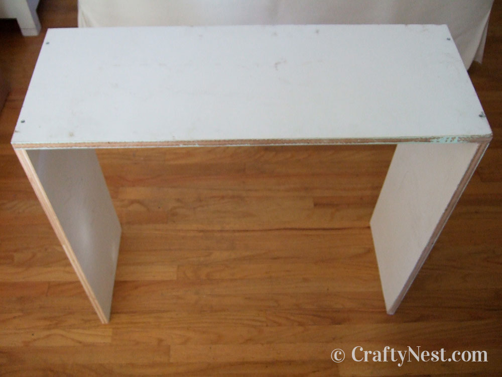 Top and sides assembled, photo