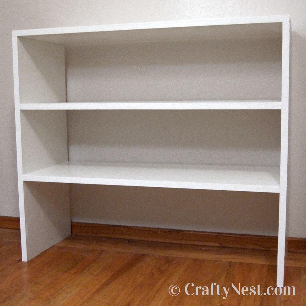 Paint the shelves, photo