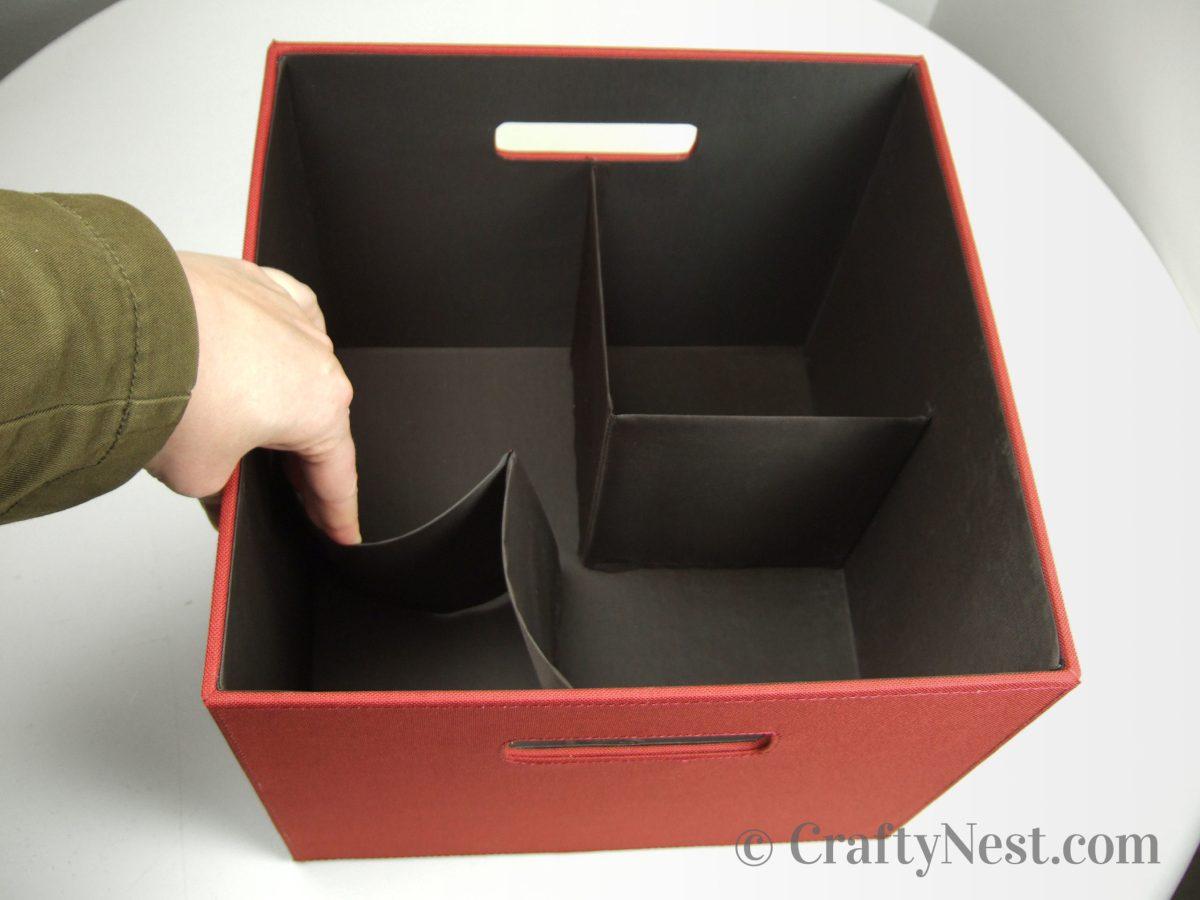 Flexible dividers, photo