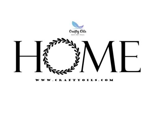 Home Wreath - Free SVG download