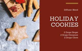 Holiday Cookies Diffuser Blend