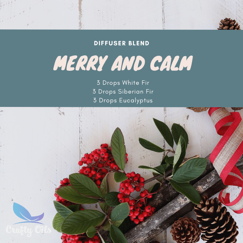 Merry and Calm Diffuser Blend