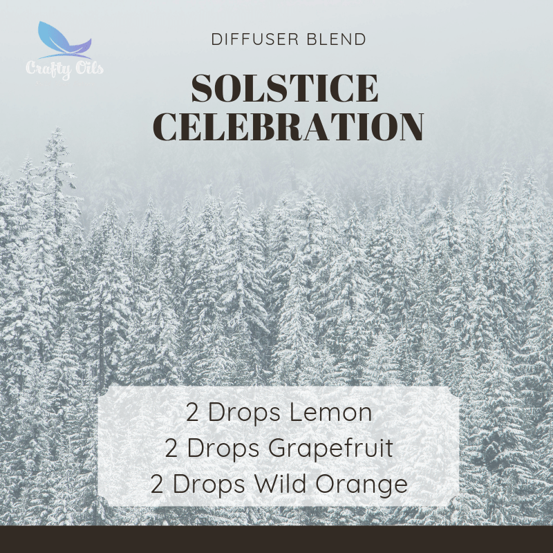 Solstice Celebration Diffuser Blend.