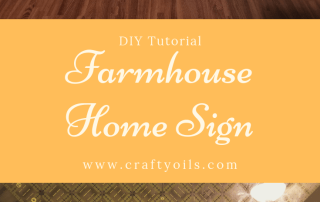 Farmhouse HOME sign Step by step DIY Tutorial