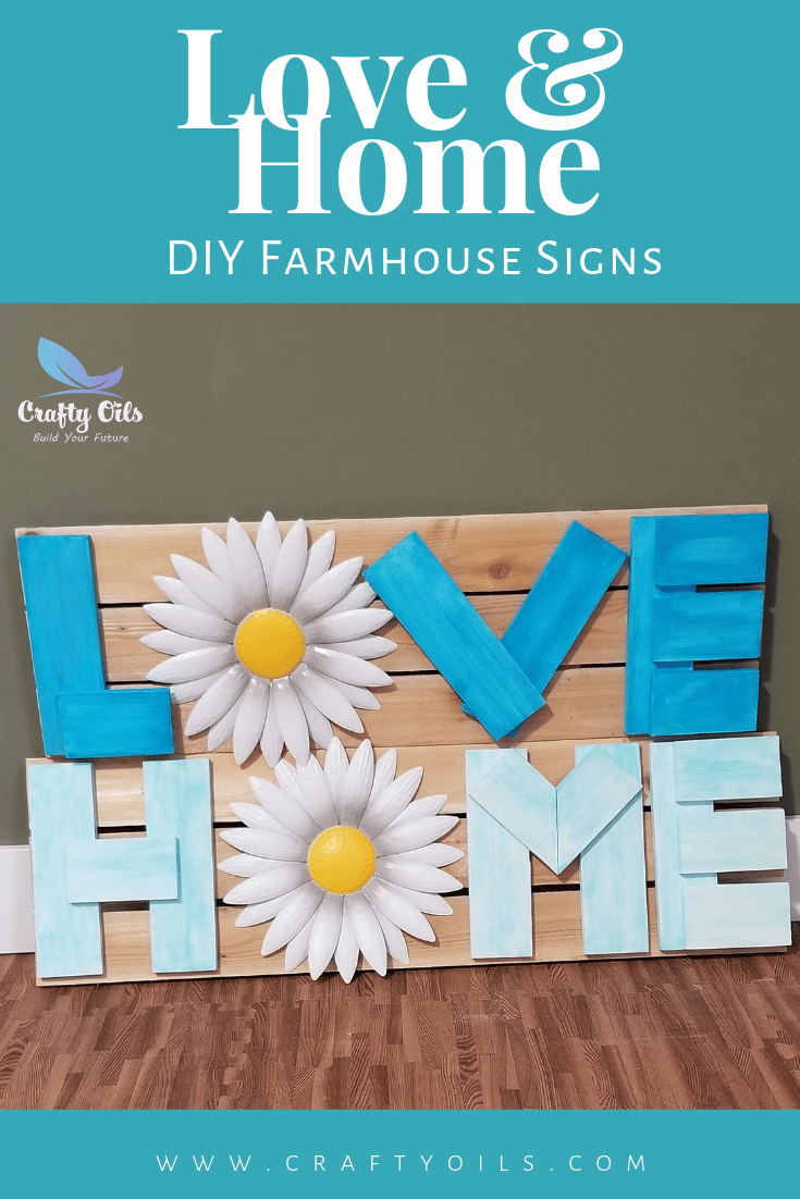 Love and Home Farmhouse sign