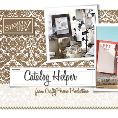 CraftyPerson email newsletters for Stampin' Up! Demonstrators
