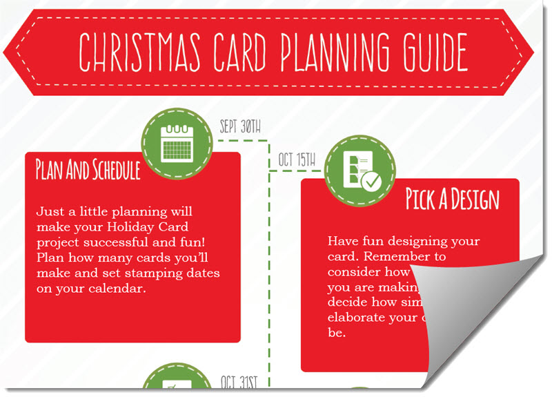 Christmas Card Planning Guide by CraftyPerson - Download Today
