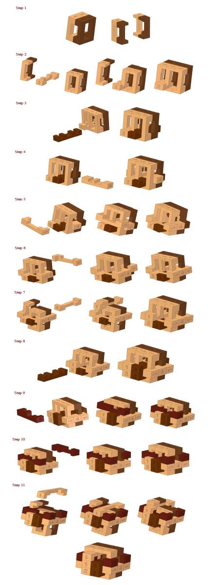 Wooden Puzzles Solutions - Idee per la decorazione di interni