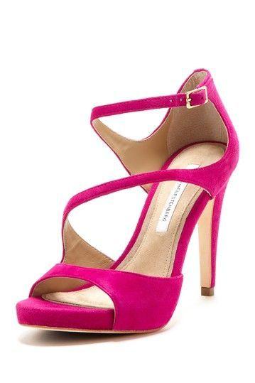Pink Sandal with Heels  CraftySandalscom