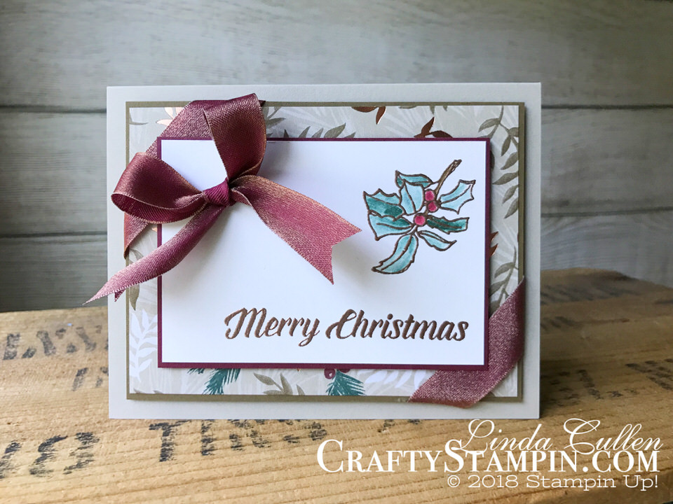 Timeless Tidings Project Kit Stampin Scoop Episode 62