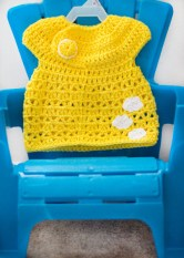 baby dress - craftytuts.com