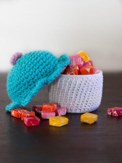 amigurumi cupcake container free crochet pattern