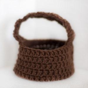 easter basket - crochet free pattern