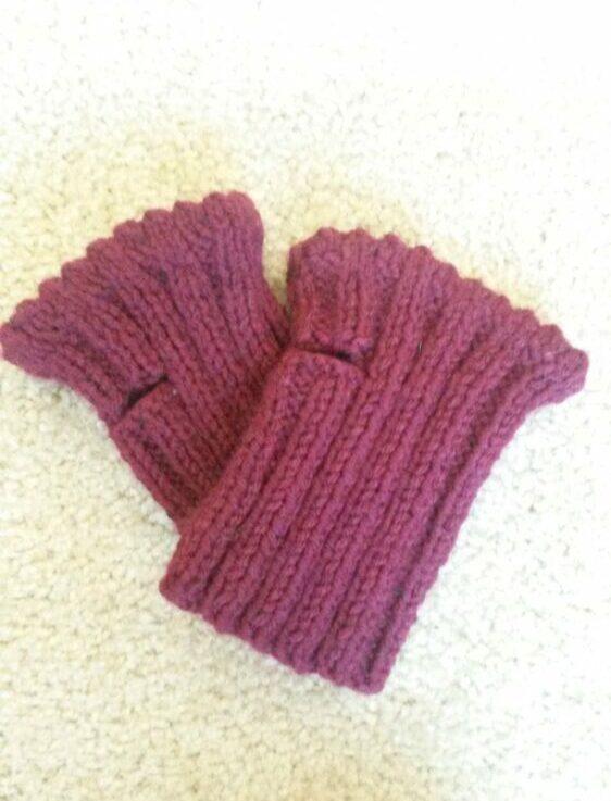 fingerless gloves free knitting pattern