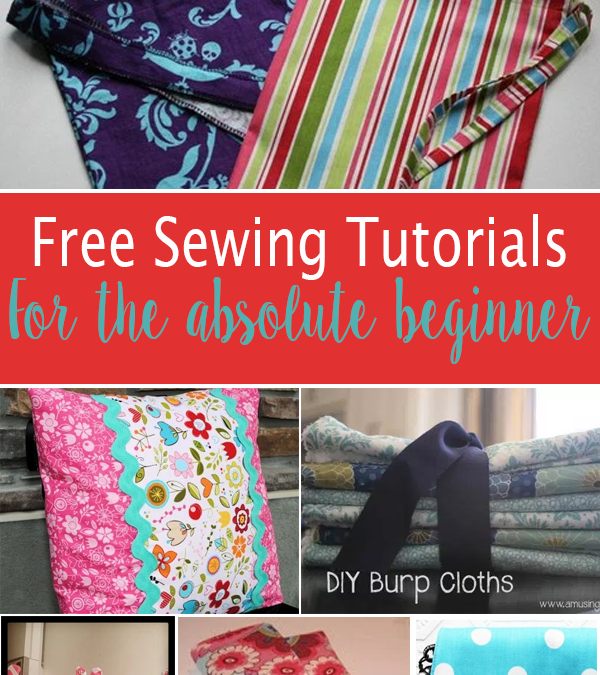Free Sewing Projects for the Absolute Beginner
