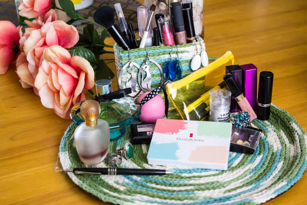 DIY Makeup Storage or Jewelry Organizer