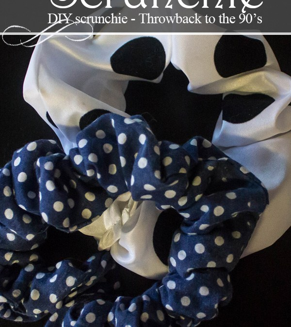 DIY Scrunchie – How to make a hair Scrunchie