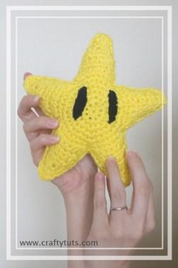 Mario Bros Star Amigurumi pattern 02