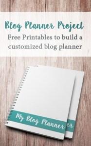 free blog planner pdf