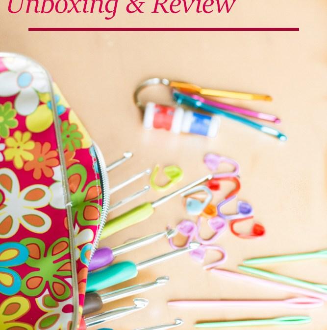 Ergonomic Crochet Hook Set Unboxing and Review