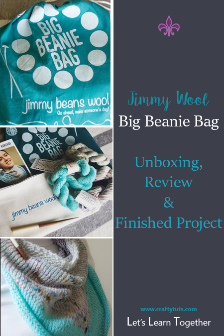 jimmy-bean-wool. Big Beanie Bag by Jimmy Beans Wool unbagging, review and photos of the finished product using their yarn and provided pattern.