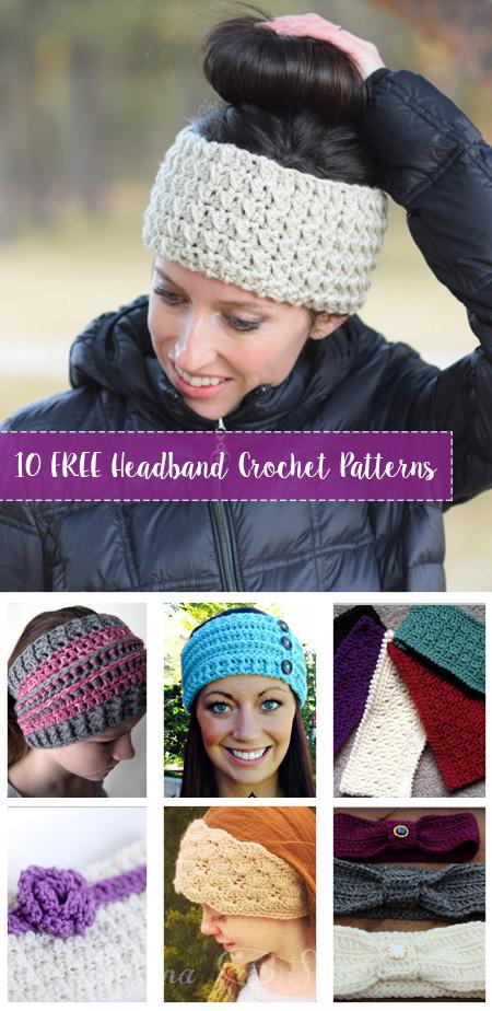 Superb Free Crochet Headband Patterns Crafty Tutorials Download Free Architecture Designs Oxytwazosbritishbridgeorg