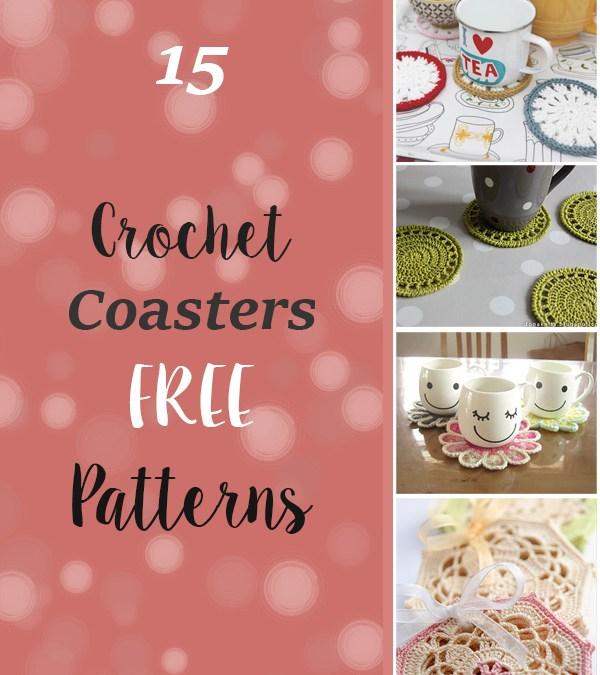 15 FREE Crochet Coaster Patterns