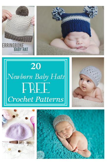 Free crochet patterns for newborn babies
