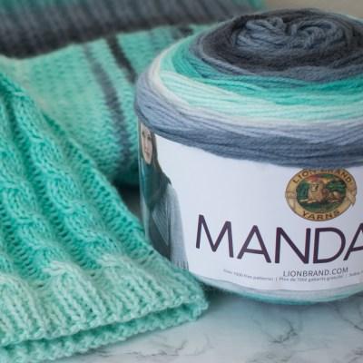 Mandala Yarn knitting