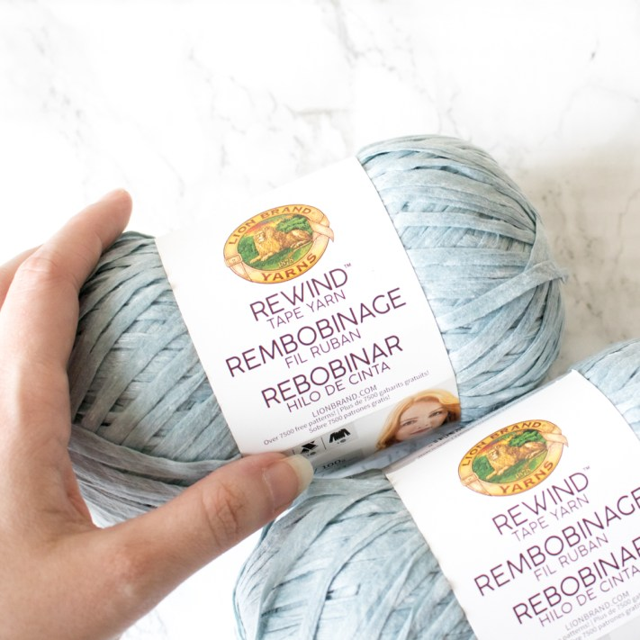 Lion Brand Rewind Yarn