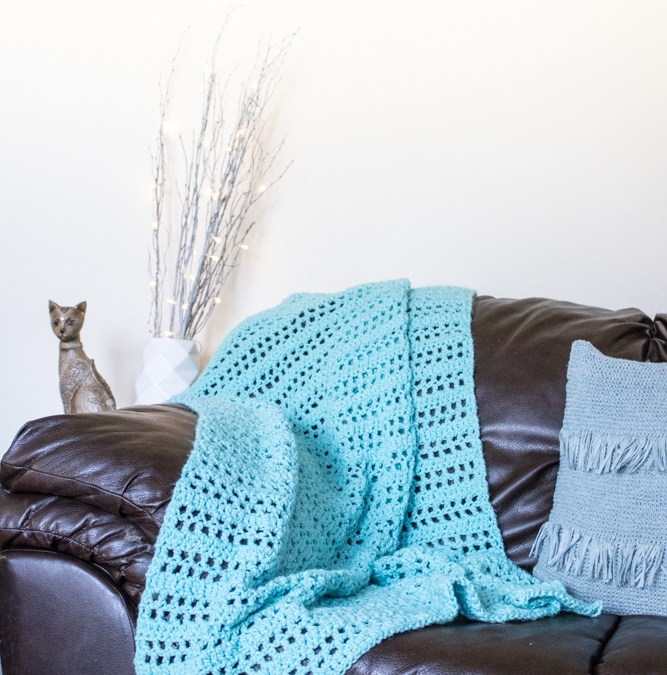 Summer Throw Free Crochet Pattern